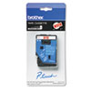 Brother P-Touch TC Tape Cartridge for P-Touch Labelers, 3/8w, White on Red (BRTTC54Z1)