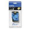 Brother P-Touch TC Tape Cartridge for P-Touch Labelers, 1/2w, Black on Yellow (BRTTC7001)