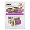 Brother P-Touch TZ Photo-Safe Tape Cartridge for P-Touch Labelers, 1/2w, Black on White (BRTTZEAF231)