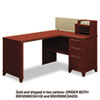 Bush 60W x 47D Corner Desk Solution (Box 2 of 2) Enterprise Harvest Cherry (BSH2999CSA203)