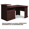 Bush Expandable Corner Desk Solution (B/F/D) Box 1 of 2 Syndicate Mocha Cherry (BSH6399MCA103)
