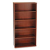 Bush 36W 5-Shelf Bookcase Series C Hansen Cherry (BSHWC24414)