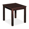 Basyx Occasional Table, Rectangular, 20w x 24d x 20h, Mahogany (BSXBW3140NN)