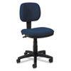 Basyx VL610 Series Swivel Task Chair, Navy Fabric/Black Frame (BSXVL610VA90)