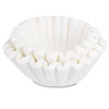 Bunn Coffee Filters, 10/12-Cup Size, 100 Filters/Pack (BUNBCF100B)