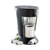 Bunn My Cafe Pour-Over Commercial Grade Coffee/Tea Pod Brewer, Stainless Steel, Black (BUNMCP)