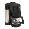 Bunn 10-Cup Professional Home Coffee Brewer, Stainless Steel, Black (BUNNHS)