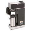 Bunn Airpot Coffee Brewer, Brews 3.8 Gal.,Stainless Steel w/Black Accents (BUNVPRAPS)