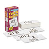 Carson-Dellosa Publishing Flash Cards, Division Facts 0-12, 3w x 6h, 93/Pack (CDPCD3929)