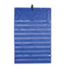 Carson-Dellosa Publishing Original Pocket Chart with 10 Clear Pockets, Grommets, Blue, 33 3/4 x 51 1/2 (CDP158158)
