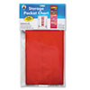 Carson-Dellosa Publishing Storage Pocket Chart with 10 13 1/2 x 7 Pockets, Hanger Grommets, 14 x 47 (CDPCD5653)