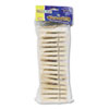 Creativity Street Wood Spring Clothespins, 3 3/8 Length, 50 Clothespins/Pack (CKC365801)