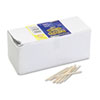 Chenille Kraft Flat Wood Toothpicks, , Wood, Natural Wood, 2500/Pack (CKC369001)