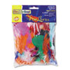 Creativity Street Bright Hues Feather Assortment, Bright Colors, 1 oz Pack (CKC4502)