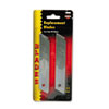 Cosco Snap Blade Utility Knife Replacement Blades, 10/Pack (COS091471)