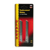 Cosco QuickPoint Snap-Off Straight Handle Retractable Knife Replacement Blade, 10/Pack (COS091473)