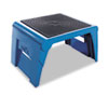 Cramer Folding Step Stool, 250lb Duty Rating, 14w x 11 1/4d x 9 3/4h, Blue (CRA50051PK63)