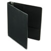 Cardinal Vinyl ClearVue XtraValue Slant D-Ring Presentation Binder, 1 Capacity, Black (CRD17201)