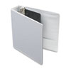 Cardinal Vinyl ClearVue XtraValue Slant D-Ring Presentation Binder, 2 Capacity, White (CRD17500)
