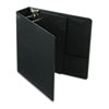 Cardinal Vinyl ClearVue XtraValue Slant D-Ring Presentation Binder, 2 Capacity, Black (CRD17501)