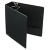 Cardinal Vinyl ClearVue XtraValue Slant D-Ring Presentation Binder, 3 Capacity, Black (CRD17601)