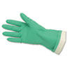 Memphis Flock-Lined Nitrile Gloves, Green (CRW5319E)