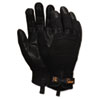 Memphis Memphis Multi-Task Synthetic Palm Gloves, Medium, Black (CRW907M)