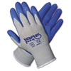 Memphis Memphis Flex Seamless Nylon Knit Gloves, Small, Blue/Gray, 1 Pair (CRW96731S)