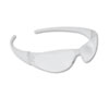 Crews Checkmate Wraparound Safety Glasses, CLR Polycarbonate Frame, Uncoated CLR Lens (CRWCK100)