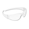 Crews Checkmate Wraparound Safety Glasses, CLR Polycarbonate Frame, Coated Clear Lens (CRWCK110)
