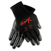 Memphis Ninja X Bi-Polymer Coated Gloves, Large, Black (CRWN9674L)