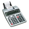 Casio HR-100TM Two-Color Portable Printing Calculator, 12-Digit LCD, Black/Red (CSOHR100TM)