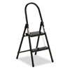 Louisville #560 Steel Qwik Step Platform Ladder, 16-7/8w x 19-1/2 Spread x 41h, Black (DADL434202)