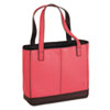 Day-Timer Leather Tote, 11-1/2 x 4 x 10, Pink (DTM48420)