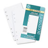 Day-Timer Lined Note Pads for Organizer, 3-3/4 x 6-3/4, 48 Sheets/Pack (DTM87128)