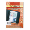 Day-Timer Business Card Holders for Looseleaf Planners, 5 1/2 x 8 1/2, 5/Pack (DTM87225)