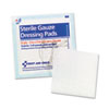 First Aid Only Gauze Pads, 3 x 3, 5/Pack (FAO5005)