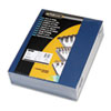 Fellowes Linen Texture Binding System Covers, 11 x 8-1/2, Navy, 200/Pack (FEL52098)