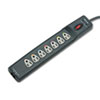Fellowes Power Guard Surge Protector w/Phone/DSL Protect, 7 Outlets, 12ft Cord (FEL99111)