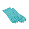 Boardwalk Nitrile Flock-Lined Gloves, Large, Green (BWK183L)