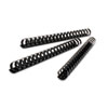 Swingline GBC CombBind Standard Spines, 2 Diameter, 425 Sheet Capacity, Black, 50/Box (SWI4200022)