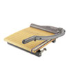Swingline ClassicCut Laser Trimmer, 15 Sheets, Metal/Wood Composite Base, 12 x 15 (SWI9715)