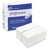 Preference 1/8 Fold Dinner Napkins, 15 x 16, White, 3000/Carton (GEP31436CT)
