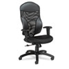 Global Tye Mesh Management Series High-Back Swivel/Tilt Chair, Black (GLB19504)