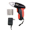 Great Neck 4.8V Cordless Screwdriver, 4 Bits, 200RPM (GNS80129)