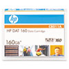Hp 8 mm DAT 160 Cartridge, 150m, 80GB Native/160GB Compressed Capacity (HEWC8011A)