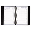 House Of Doolittle Daily Appointment Book, 15-Minute Apppointments, 5 x 8, Black (HOD28802)