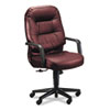 Hon Leather 2090 Pillow-Soft Series Executive High-Back Swivel/Tilt Chair, Burgundy (HON2091SR69T)