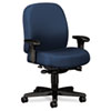 Hon 24-Hour Mid-Back Synchro-Tilt Task Chair, Blue (HON3528NT90T)