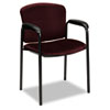 Hon Tiempo Guest Arm Chair without Casters, Wine (HON4605NT69T)